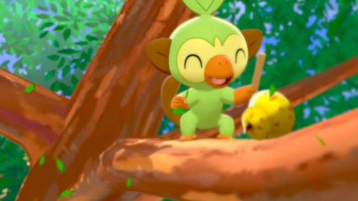 Pokemon Grookey
