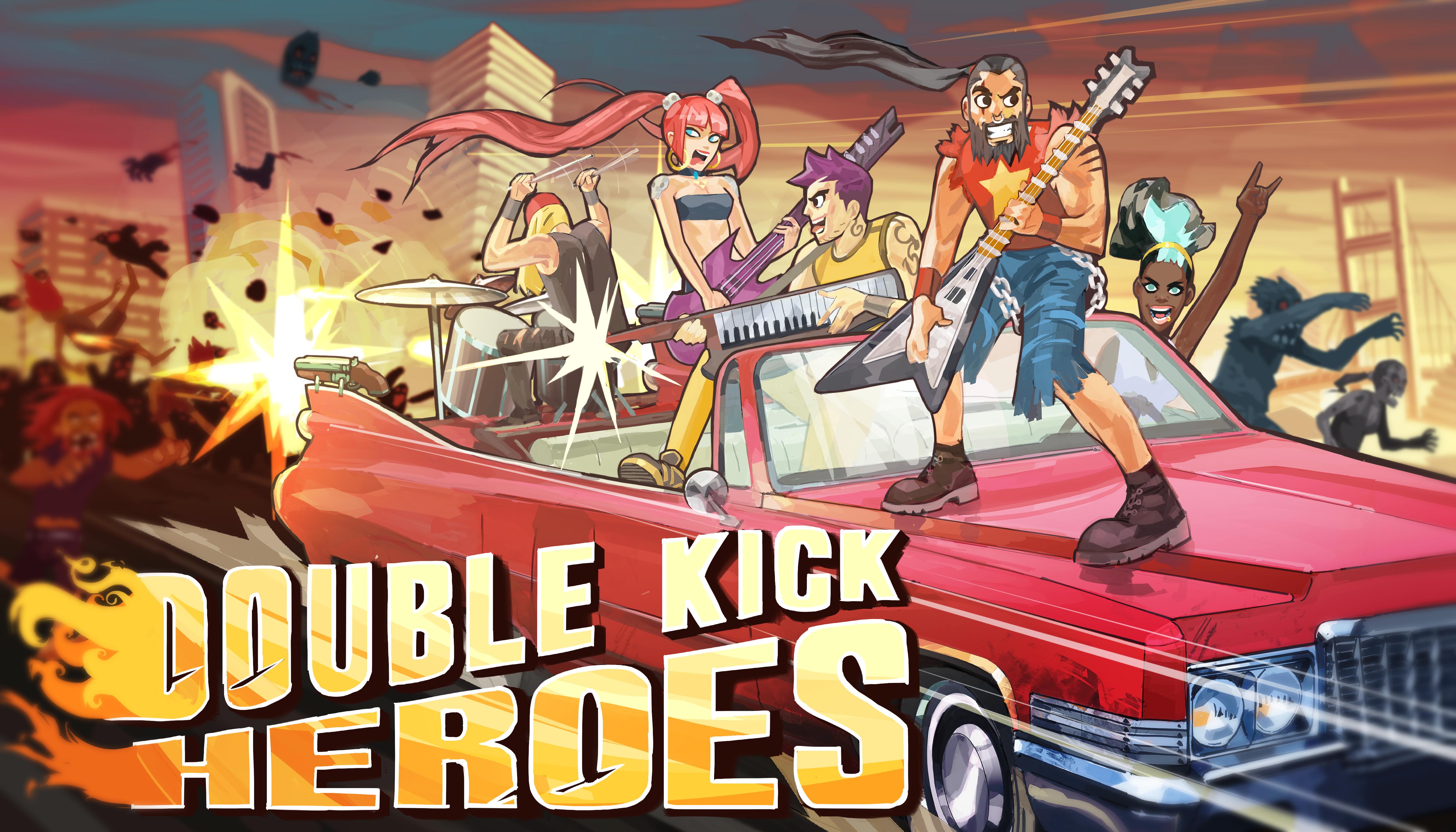 Double Kick Heroes   Mental Health Gaming