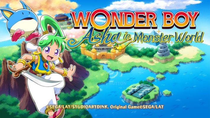 Woner Boy: Asha in Monster World